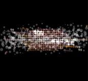 Αφηρημένο υπόβαθρο αστεριών disco ελαφρύ Στοκ Φωτογραφίες