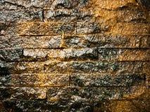 Αφηρημένο υπόβαθρο βράχου και καταρρακτών Στοκ Φωτογραφίες