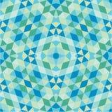 Αφηρημένο υπόβαθρο - γεωμετρικό άνευ ραφής διανυσματικό σχέδιο Στοκ Εικόνες