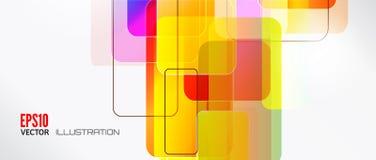 Αφηρημένο υπόβαθρο γραμμών με τα χρωματισμένα στοιχεία απαγορευμένα Γραμμές, κύμα ελεύθερη απεικόνιση δικαιώματος