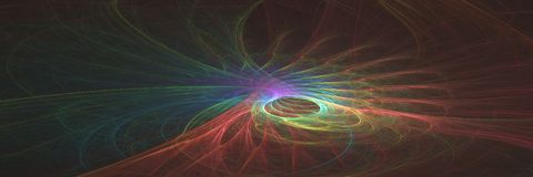 Αφηρημένο υπόβαθρο εμβλημάτων φαντασίας υπερφυσικό Παραγμένο υπολογιστής γ Διανυσματική απεικόνιση