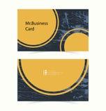 Αφηρημένο υπόβαθρο επαγγελματικών καρτών Στοκ Εικόνες