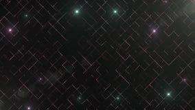 Αφηρημένο υπόβαθρο επιχειρησιακής επιστήμης ή τεχνολογίας με το κενό διάστημα για το κείμενο διάστημα αντιγράφων κλείστε επάνω Ζω απόθεμα βίντεο
