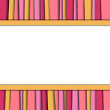 Αφηρημένο υπόβαθρο, ζωηρόχρωμο διάνυσμα σύστασης στρώματος Στοκ Εικόνα