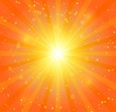 Αφηρημένο υπόβαθρο ηλιοφάνειας Στοκ Εικόνες