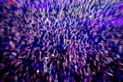 Αφηρημένο υπόβαθρο θαμπάδων του πλήθους των ανθρώπων Στοκ φωτογραφία με δικαίωμα ελεύθερης χρήσης