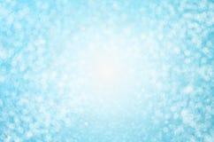 Αφηρημένο υπόβαθρο θαμπάδων - όμορφο μπλε υπόβαθρο bokeh απεικόνιση αποθεμάτων