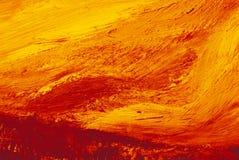 Αφηρημένο υπόβαθρο καμβά τέχνης με τη σύσταση χρώματος βουρτσών στοκ φωτογραφίες με δικαίωμα ελεύθερης χρήσης