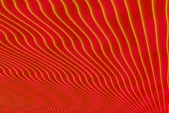 Αφηρημένο υπόβαθρο κυμάτων με τις φυσικές γραμμές Στοκ Φωτογραφία