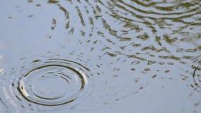 Αφηρημένο υπόβαθρο κυματισμών νερού φιλμ μικρού μήκους