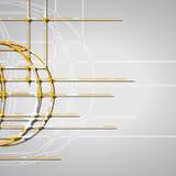 Αφηρημένο υπόβαθρο κύκλων Στοκ Εικόνες