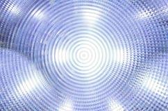 Αφηρημένο υπόβαθρο, κύμα, δίκτυο, κύκλος Στοκ φωτογραφία με δικαίωμα ελεύθερης χρήσης