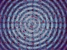 Αφηρημένο υπόβαθρο, κύμα, δίκτυο, κύκλος Στοκ Εικόνες