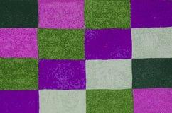 Αφηρημένο υπόβαθρο με ένα ζωηρόχρωμο τετραγωνικό σχέδιο Στοκ Φωτογραφίες