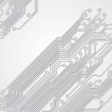 Αφηρημένο υπόβαθρο με μια σύσταση πινάκων κυκλωμάτων Στοκ φωτογραφία με δικαίωμα ελεύθερης χρήσης