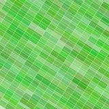 Αφηρημένο υπόβαθρο με τα ανοικτό πράσινο ορθογώνια ράστερ Στοκ Εικόνες
