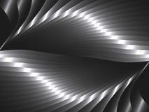 Αφηρημένο υπόβαθρο με τα κύματα μετάλλων απεικόνιση αποθεμάτων