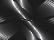 Αφηρημένο υπόβαθρο με τα κύματα μετάλλων διανυσματική απεικόνιση