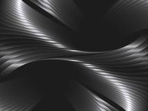 Αφηρημένο υπόβαθρο με τα κύματα μετάλλων ελεύθερη απεικόνιση δικαιώματος