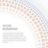 Αφηρημένο υπόβαθρο με τα τετράγωνα και το διάστημα αντιγράφων Στοκ Εικόνες