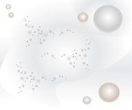 Αφηρημένο υπόβαθρο με τα φωτεινά αστέρια διανυσματική απεικόνιση