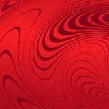 Αφηρημένο υπόβαθρο με τις διαστρεβλωμένες γραμμές Η κυρτότητα του διαστήματος Ρευστή κίνηση διανυσματική απεικόνιση