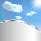 Αφηρημένο υπόβαθρο με τον ουρανό Στοκ φωτογραφίες με δικαίωμα ελεύθερης χρήσης