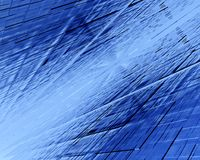 Αφηρημένο υπόβαθρο με τους αριθμούς από τα διαφανή τετράγωνα τρισδιάστατη απεικόνιση Στοκ Φωτογραφία
