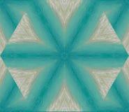 Αφηρημένο υπόβαθρο με το γεωμετρικό kaleidoscopic σχέδιο που λαμβάνεται από τον ωκεανό, άμμος στα κύματα σε μια τροπική ακτή στις ελεύθερη απεικόνιση δικαιώματος