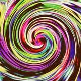 Υπόβαθρο με το φωτεινό πολύχρωμο στρόβιλο διανυσματική απεικόνιση