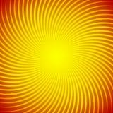 Αφηρημένο υπόβαθρο με φωτεινές ηλιόλουστες κίτρινες ακτίνες Υπόστρωμα για τις κάρτες και τη διαφήμιση διακοπών Στοκ Φωτογραφίες