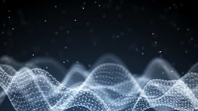 Αφηρημένο υπόβαθρο μουσικής Εξισωτής για τη μουσική Υγιή κύματα με τα κύματα μουσικής r απεικόνιση αποθεμάτων