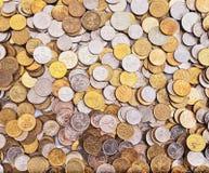 Αφηρημένο υπόβαθρο νομισμάτων Στοκ εικόνες με δικαίωμα ελεύθερης χρήσης