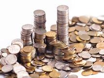 Αφηρημένο υπόβαθρο νομισμάτων Στοκ Εικόνα