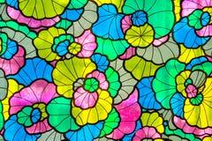 Αφηρημένο υπόβαθρο λουλουδιών Στοκ Εικόνα