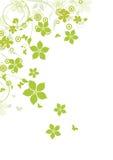 Αφηρημένο υπόβαθρο λουλουδιών ελεύθερη απεικόνιση δικαιώματος