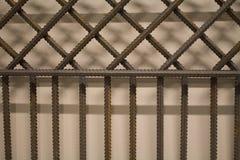 Αφηρημένο υπόβαθρο ράβδων σιδήρου Στοκ φωτογραφίες με δικαίωμα ελεύθερης χρήσης