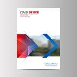 Αφηρημένο υπόβαθρο σχεδίου ιπτάμενων πρότυπο φυλλάδιων Στοκ Εικόνες