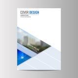 Αφηρημένο υπόβαθρο σχεδίου ιπτάμενων πρότυπο φυλλάδιων Στοκ εικόνες με δικαίωμα ελεύθερης χρήσης