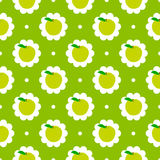 Αφηρημένο υπόβαθρο σχεδίων μήλων διανυσματική απεικόνιση