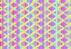 Αφηρημένο υπόβαθρο σύστασης με πολλές χρωματισμένες γραμμές Στοκ φωτογραφία με δικαίωμα ελεύθερης χρήσης