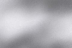 Αφηρημένο υπόβαθρο σύστασης, τραχύς ασημένιος τοίχος μετάλλων κυμάτων διανυσματική απεικόνιση