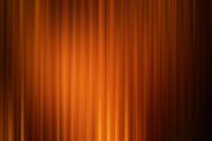 Αφηρημένο υπόβαθρο τέχνης, πορτοκαλί χρυσό ύφος κινήσεων κινηματογράφων drape Στοκ Εικόνες