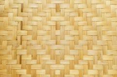 Αφηρημένο υπόβαθρο τέχνης σύστασης ύφανσης μπαμπού, σχέδιο βιοτεχνίας Στοκ Φωτογραφίες