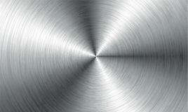 Αφηρημένο υπόβαθρο τεχνολογίας μετάλλων Αργίλιο με τη γυαλισμένη, βουρτσισμένη σύσταση, χρώμιο, ασήμι, χάλυβας, για το σχέδιο απεικόνιση αποθεμάτων