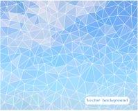 Αφηρημένο υπόβαθρο τριγώνων κυττάρων Στοκ φωτογραφία με δικαίωμα ελεύθερης χρήσης