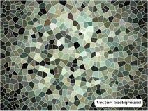 Αφηρημένο υπόβαθρο τριγώνων κυττάρων Στοκ Εικόνες