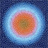 Αφηρημένο υπόβαθρο τριγώνων κυττάρων Στοκ Φωτογραφίες