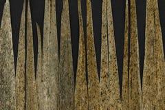 Αφηρημένο υπόβαθρο των καφετιών ξηρών φύλλων καλάμων στο μαύρο υπόβαθρο στοκ φωτογραφίες με δικαίωμα ελεύθερης χρήσης