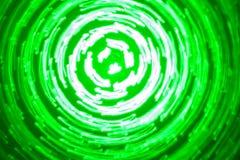 Αφηρημένο υπόβαθρο των φωτεινών κύκλων στα πράσινα και άσπρα χρώματα στοκ εικόνες